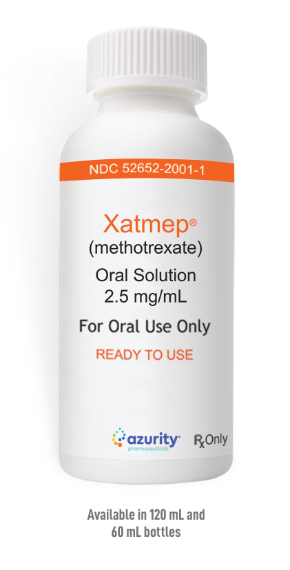 Xatmep (methotrexate) oral solution 1mg/1ml Bottle